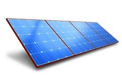 Zonne batterijpaneel vector illustratie