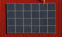 zonne elektrische centrale 08 Stock Afbeeldingen