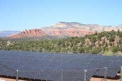 Zonne elektrische centrale/Arizona stock afbeeldingen