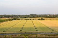 Zonne en windenergie stock fotografie