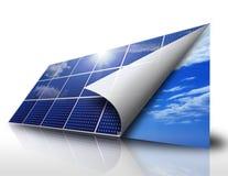 Zonne-energie Stock Afbeeldingen
