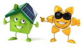 Zonne-energie Stock Foto