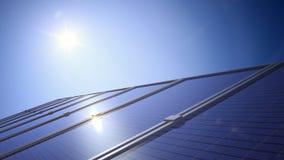 Zonne-energie royalty-vrije stock afbeelding
