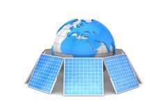 Zonne-energie Royalty-vrije Stock Foto's