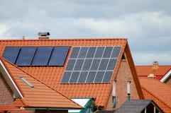 Zonne energie royalty-vrije stock foto