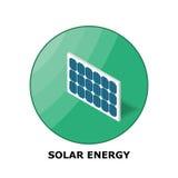 Zonne-energie, Hernieuwbare energiebronnen - Deel 2 stock illustratie