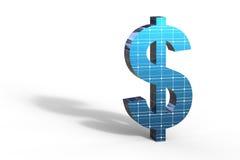 Zonne-energiedollar Royalty-vrije Stock Fotografie