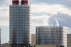 Zonne-energiegenerators Stock Fotografie