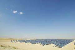 Zonne-energieinstallatie Royalty-vrije Stock Afbeelding