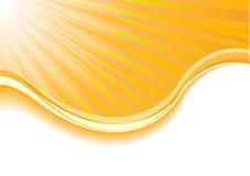 Zonne-energiekaart vector illustratie