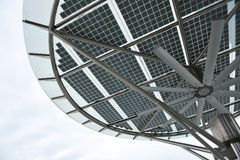 Zonne-energiepaneel Royalty-vrije Stock Foto's