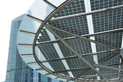 Zonne-energiepaneel Royalty-vrije Stock Foto