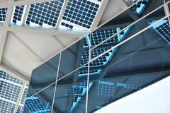 Zonne-energiepaneel Stock Afbeelding