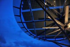Zonne-energiepaneel Royalty-vrije Stock Afbeelding