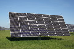 Zonne-energiepanelen Stock Foto's
