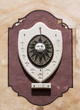 Zonne klok - RUW formaat stock afbeeldingen