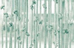 Zonneblinden gemaakt tot †‹â€ ‹van kabel Stock Afbeelding
