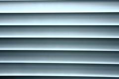 Zonneblinden, rolzonneblinden Stock Foto