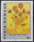 Zonnebloem door Vincent van Gogh Royalty-vrije Stock Foto's