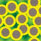 Zonnebloemen vector illustratie