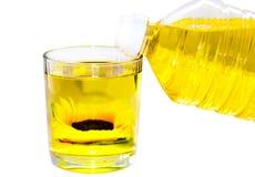 Zonnebloemolie Stock Afbeelding