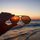 zonnebril Stock Fotografie