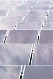 Zonnecel Stock Afbeelding