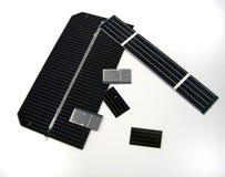 Zonnecellen Royalty-vrije Stock Afbeelding