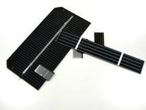 Zonnecellen Royalty-vrije Stock Afbeeldingen