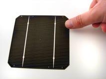 Zonnecellen stock fotografie