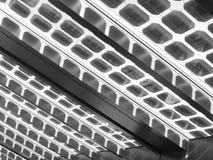 Zonnecellen Stock Foto
