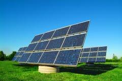 Zonnecellen Stock Afbeeldingen