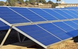 Zonnecollectoren Stock Foto's