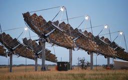Zonnemacht Carwarp Australië Stock Fotografie