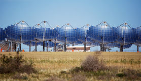 Zonnemacht Carwarp Australië Royalty-vrije Stock Foto's