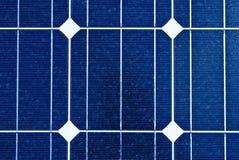 Zonnepaneel. Photovoltaic, vernieuwbare besparingen Royalty-vrije Stock Afbeeldingen