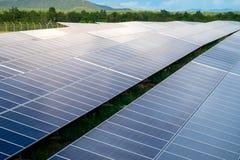 Zonnepaneel Schone energie van Thailand royalty-vrije stock fotografie