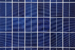 Zonnepaneelachtergrond Royalty-vrije Stock Afbeeldingen