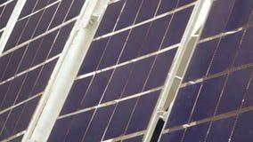 Zonnepaneelsatelliet stock videobeelden