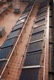 Zonnepanelen Stock Foto