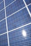 Zonnepanelen - ecologieenergie Stock Foto's