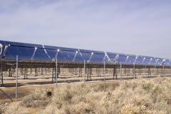 Zonnepanelen voor vernieuwbare energie Royalty-vrije Stock Foto