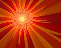 Zonneschijn Vector Illustratie