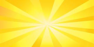 zonneschijn stock illustratie