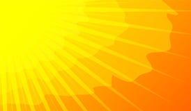 Zonneschijn in zondagen Stock Foto's