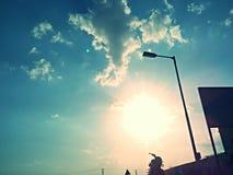 Zonneschijn zonnige dagen Royalty-vrije Stock Foto's