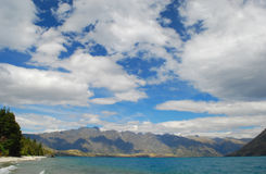Zonneschijnbaai, Meer Wakatipu, Queenstown, Nieuw Zeeland Royalty-vrije Stock Fotografie