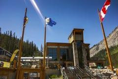 Zonneschijndorp Ski Resort royalty-vrije stock foto