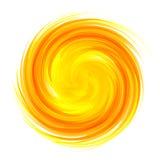 Zonnestraal abstracte vector Stock Afbeelding