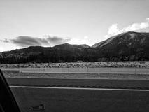 Zonnestraal over Siërra Nevada Mountains royalty-vrije stock fotografie